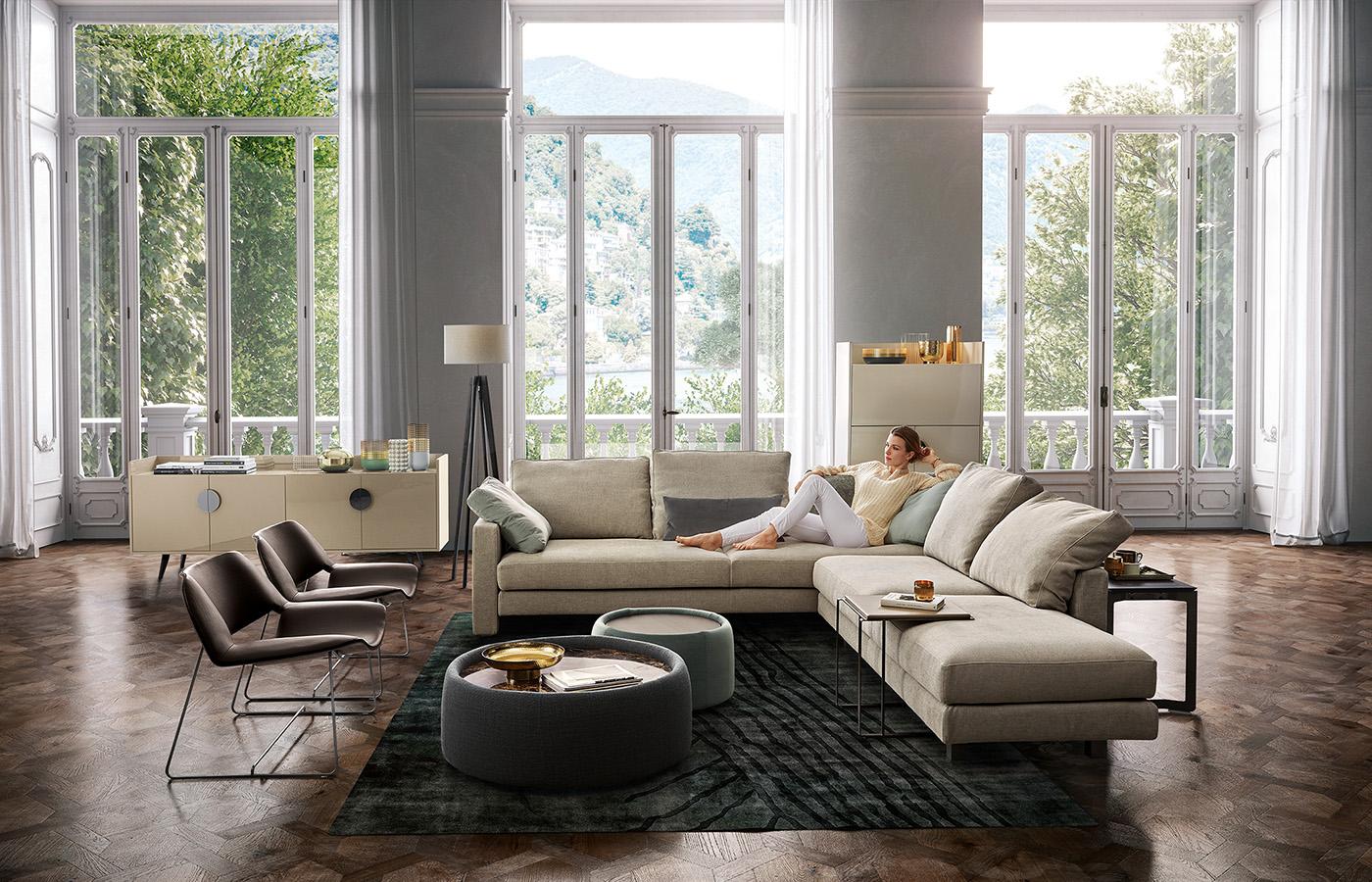 modular sofa babiloniadue dema. Black Bedroom Furniture Sets. Home Design Ideas