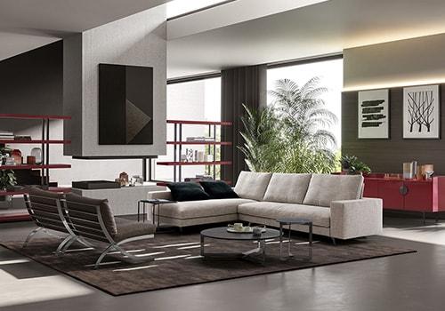 Arredamento moderno zona living dema for Arredamento living