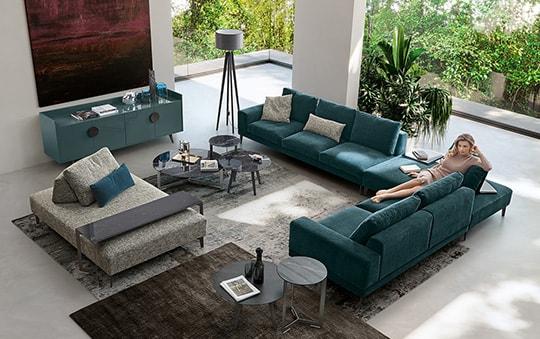 Divano al centro della stanza stunning divano angolare - Divano al centro della stanza ...